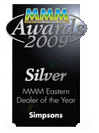 MMM Awards 2009 - Silver dealer of the year