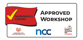 NCC Approved Workshop logo