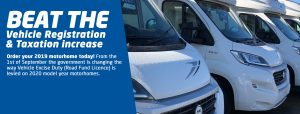 ROAD FUND TAX INCREASE FOR MOTORHOMES WITH NEW GENERATION ENGINES